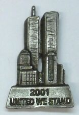 Ant Silver Plate, 4th of July, New Usa Twin Towers 911 Commemorative Lapel Pin,