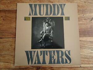 MUDDY WATERS King Bee UK A1/B1 INSERT 1981 BLUE SKY 84918 original VINYL LP