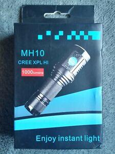 WOW~RARE ASTROLUX MH10 CREE XPL HI 1000 LUMENS FLASHLIGHT!
