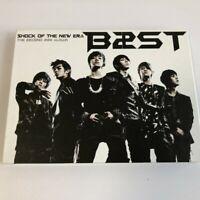 BEAST B2ST 2nd Mini Album Shock Of The New Era CD Free Shipping