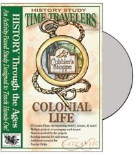 Time Travelers Series: Colonial Life History Cd-Rom