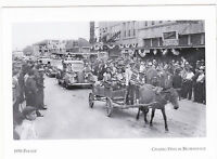 """*Postcard-""""The 1938 Parade""""-Charro Days @ Brownsville, Texas (A50-3)"""
