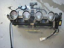 05 06 Kawasaki zx6r 636 throttle bodies fuel injection