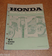 Manuale D'Officina Honda Ez 90 Cup Stand 03/1990