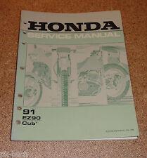 Werkstatthandbuch Honda EZ 90 Cup Stand 03/1990