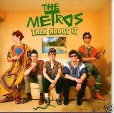 (831S) The Metros, Talk About It - DJ CD