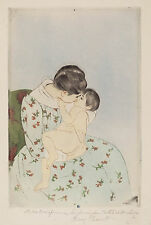 Mary Cassatt Reproductions: Mother's Kiss - Fine Art Print