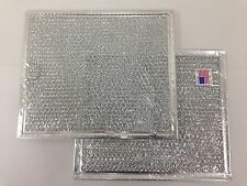 """FITS MANY GE MODELS GREASE MICROWAVE FILTER - 6-3/8"""" X 6-3/4"""" X 3/32"""" (2-PK)-86M"""