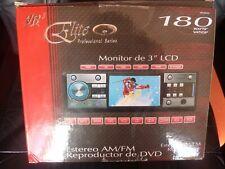 "ELITE VR3 PROFESSIONAL SERIES 3"" LCD DVD PLAYER VRVD630 180 WATTS USB SD"