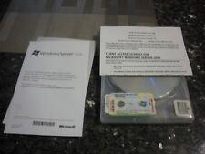 Microsoft Windows SERVER STD 2008  1-4CPU Client Access Licenses 5