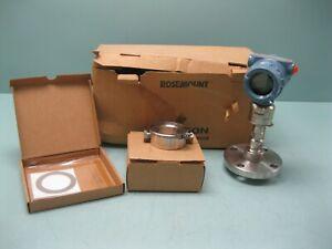 Rosemount 3051 S2 TA 2A Smart Hart Pressure Transmitter NEW F11 (2745)