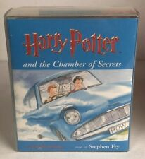 Harry Potter and the Chamber Of Secrets Audio Book Cassette - Stephen Fry  /