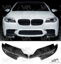 BMW M5 F10 CARBON FIBER FRONT BUMPER CORNER SPLITTERS