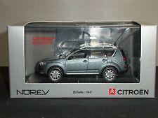 Norev 155650 CITROEN C CROSSER 2007 Grigio Scuro Metallico Auto Modello Diecast