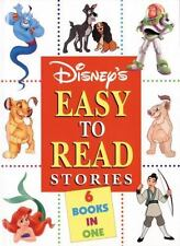 Disney's Easy to Read Stories 6 Books In 1 1999 Hardcover