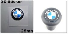 Bmw 3D-Sticker Logo for Gearbox and other 28mm