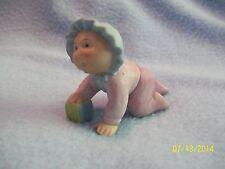 Cabbage Patch Kids Figurine BABY BLUE BONNET 1984 Porcelain Figurine ~ LQQK >>