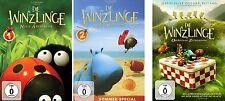 3 DVDs * DIE WINZLINGE  NEUE ABENTEUER 1 + 2 + OPERATION ZUCKERDOSE # NEU OVP &
