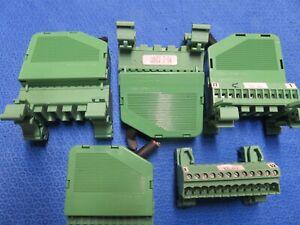 (4) Phoenix contacts KGS-MSTB 2.5/12 w/MSTBVK 2.5-5.08MM HEADER