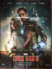 Affiche IRON MAN 3 Guy Pearce ROBERT DOWNEY Jr. MARVEL Super-Héros 120x160cm *