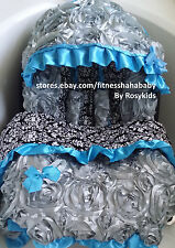 gray blue infant car seat canopy cover Blanket fit most infant seat boy or girl