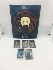 SDCC 18 Exclusive GOT You Win or Die set of 5 pins Dragons & Night King