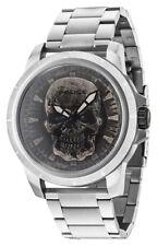 POLICE Reaper PL14385JS/57M Herren Edelstah Uhr , Skull Totenkopf neu