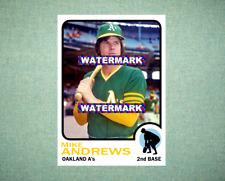 Jim Hunter Oakland Athletics A/'s 1968 Style Custom Baseball Art Card