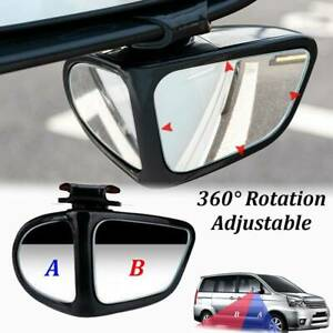 360° Rotation Blind Spot Mirror Adjustable Car Wide Angle Reversing  Right Side
