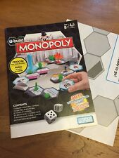 Replacement Spare Rule Monopoly U Build Game Instructions