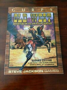 GURPS Old West 2nd Edition