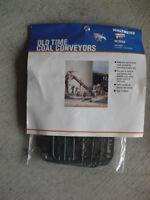 Walthers Cornerstone HO Scale Old Time Coal Conveyors Kit NIP 933-3520
