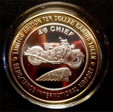 "HARD TO FIND / Reno Tahoe Airport - ""46 Chief Motorcycle (1996)"" / Reno, NV"