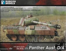 Bolt Action Rubicon Models German Panther Ausf D/A Tank 1/56 scale (28mm) New!