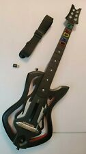Guitar Hero: Warriors Of Rock PS3 Wireless Guitar With Dongle + Strap - Tested