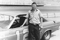 Donnie Allison in this Holman Moody built Ford Fairlane OLD RACING PHOTO