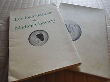 LES INCARNATIONS DE MADAME BOVARY.PARIS, ROGER DACOSTA, 1933