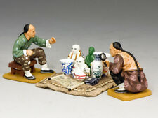 Curio Seller Set HK152M King & Country Streets of Old Hong Kong Matte Miniature