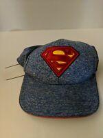 Superman Justice League DC Comics blue Youth Snapback Hat Cap
