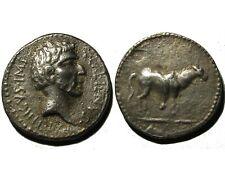 ROMAN SILVER REPUBLIC DENARIUS OF Q. LABIENUS (40 BC)!!!
