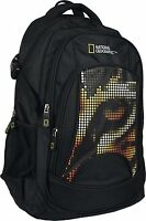 SAC A DOS NATIONAL GEOGRAPHIC TIGRE PIXELS CARTABLE ECOLE SPORT LOISIRS