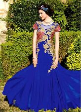 Pakistani Wedding Bridal Long Anarkali Dress Bollywood Indian Designer Stitched