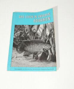 Broschur - Das Leben in unseren Aquarium 1952 Tagung in Berlin (H3