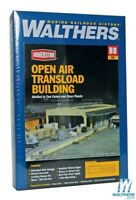 Walthers 933-2918 Open Air Transload Building Kit HO Scale Train