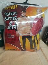 Spirit Peanut Butter & Jam Sandwich Couple Adult One Size Fits Most new