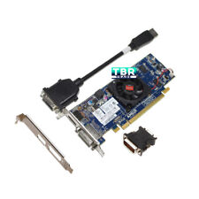 AMD Radeon HD7450 1GB DVI DP 677894-001 Video Graphics Card Long/low brackets