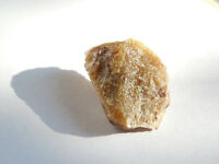 25mm RARE Natural Rough BROWN HERDERITE CRYSTAL from BRAZIL 5.33g;26ct ORGONE#10
