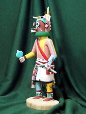 Hopi Kachina Doll - Wakas, the Cow Kachina  by Conrad Torivio - Irresistible!