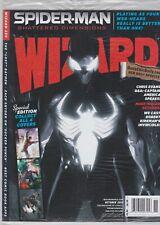 WIZARD MAGAZINE # 230 SEALED SPIDERMAN BLACK COSTUME COVER INVICIBLE KIRKMAN