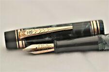 More details for vintage super - onoto 6235 piston fill - fountain pen - c1948 - uk - g f trim